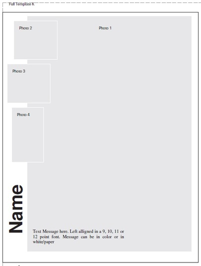 Ad template choices and samples ola yearbook for Ola document template